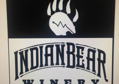 Indian-Bear-Sign-Design-Stage