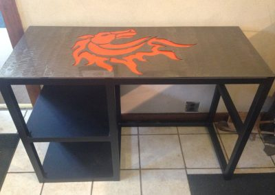 Office-Desk-Fabricated-Powdercoated-and-Waterjet-Top